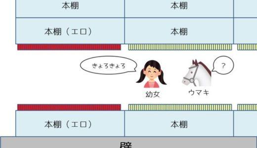 幼女がエロ本を立ち読みしてた話【ブックオフ】